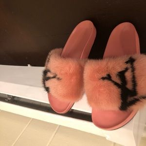 080b8d5e8359 Louis Vuitton Shoes - Louis Vuitton slides authentic designer slides